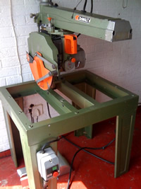 Dewalt 14 inch radial arm saw  - Click to Enlarge