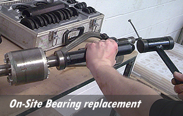 On-Site Bearing replacement